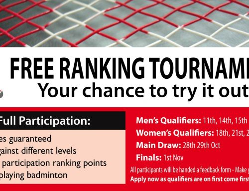 FREE Ranking Tournament – Your chance to try it out!
