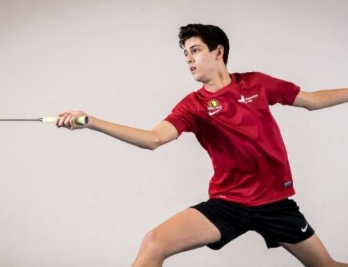 "Bio – Nigel Degaetano ""Badminton is fast paced and a beautiful game"""