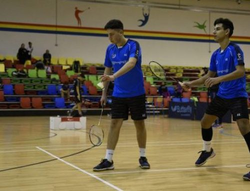 Elimination in Mixed and Doubles at the Israel Junior 2018