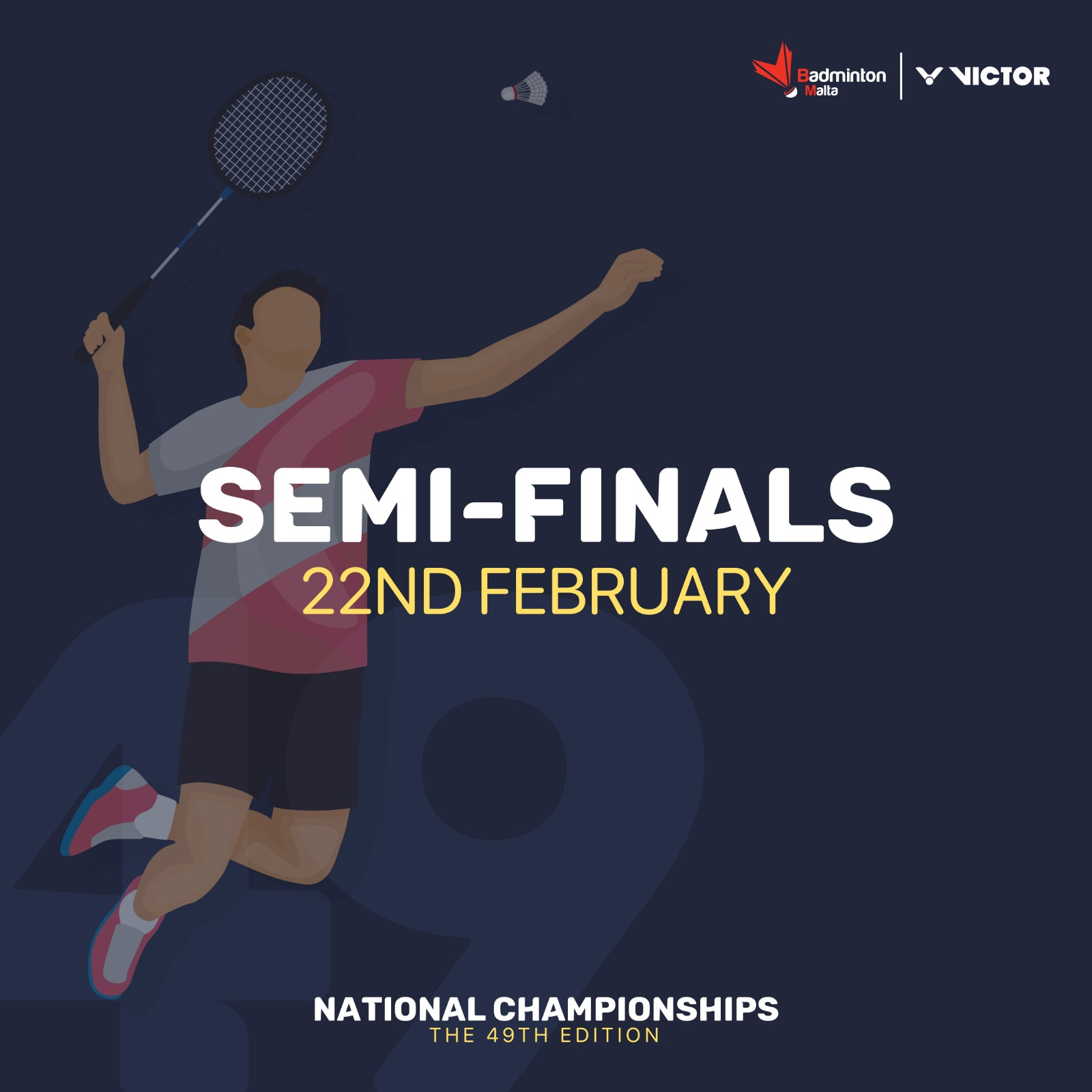 List of Semi Finals is now completed